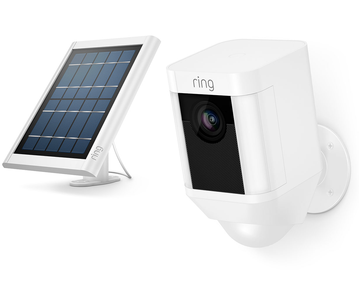 Get Smart Security Powered By The Sun With Spotlight Cam