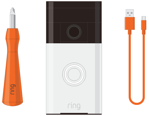 Ring Video Doorbell - Box contents